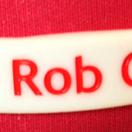 Rob George Foundation Wristband