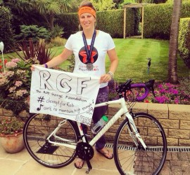 Abi Claydon Four Challenges Rob George Foundation