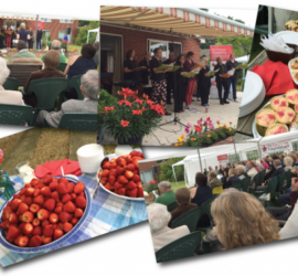 Prosecco and Strawberries in aid of the Rob George Foundation