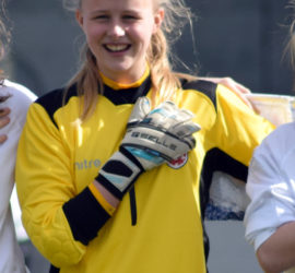 Hannah Hampton - supported by the Rob George Foundation
