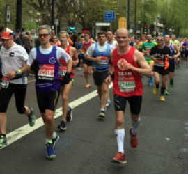 Running the London Marathon for the RGF