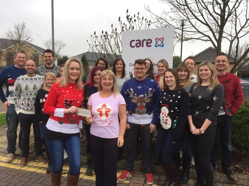 Care UK raise funds for the Rob George Foundation