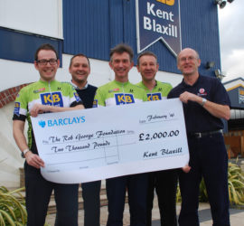 Kent Blaxill Bike Ride in support of RGF