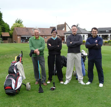Golfers at the RGF Golf Day June 2016