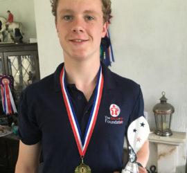 Kieran Harby National Pentathlon Champion