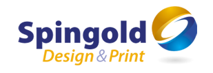 Spingold Graphics. logo