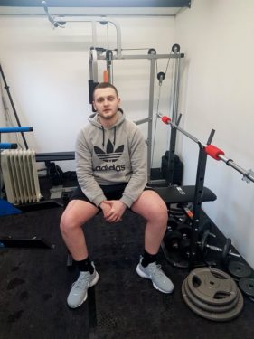 Jordan in the gym