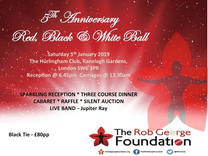 The RGF 2019 Ball Ticket