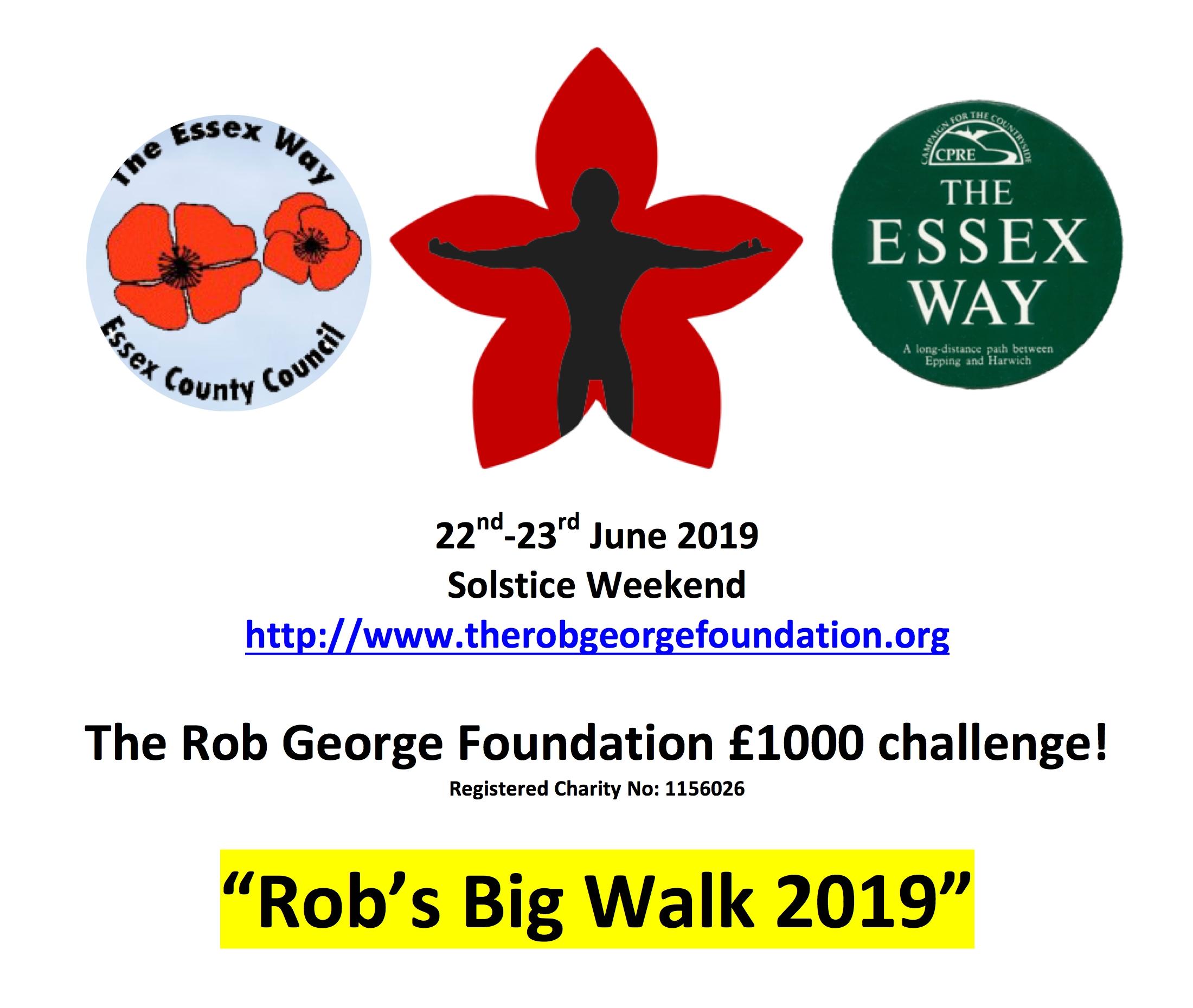 Rob's Big Walk'19