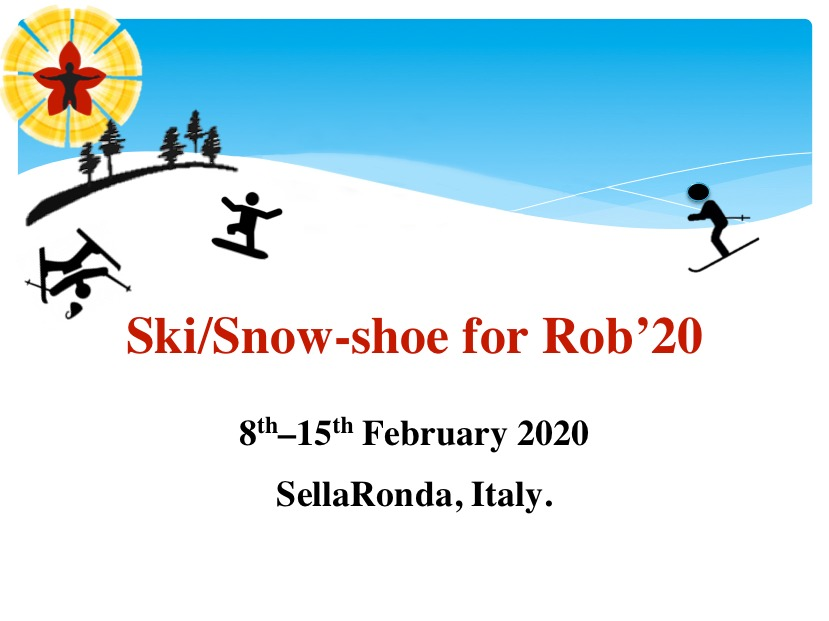 Ski/Snow-shoe for Rob'20