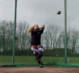 Athlete Megan Larkins - Hammer