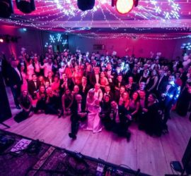 People at the Fifth Anniversary Ball