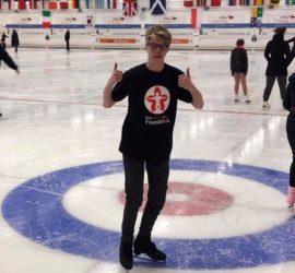 Callum, Ice Skating