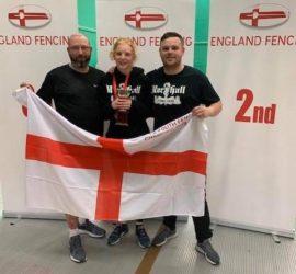 Eleanor, English Youth Sabre Champion