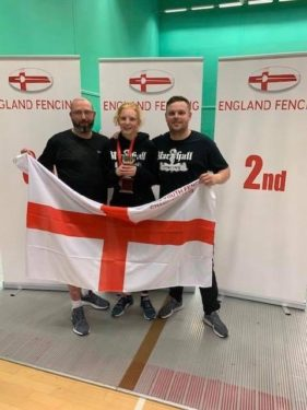 Eleanor, English Youth Sabre Champion