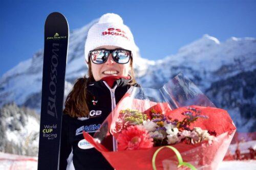 Jasmin Telemark skier