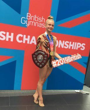 Phoebe Haughton, Rhythmic Gymnast