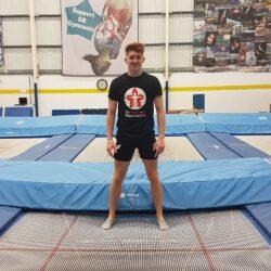 Peter trampoline gymnast