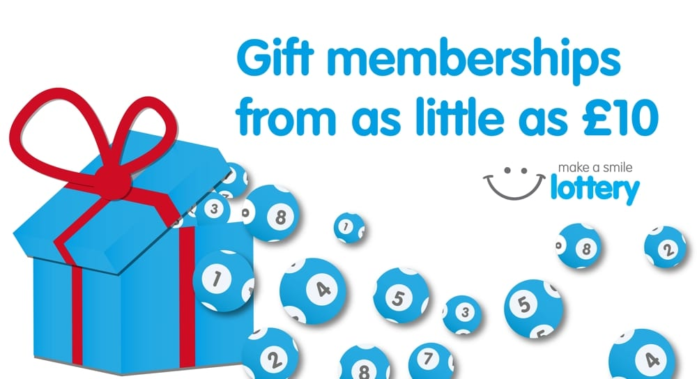 Make a smile lottery - gift membership