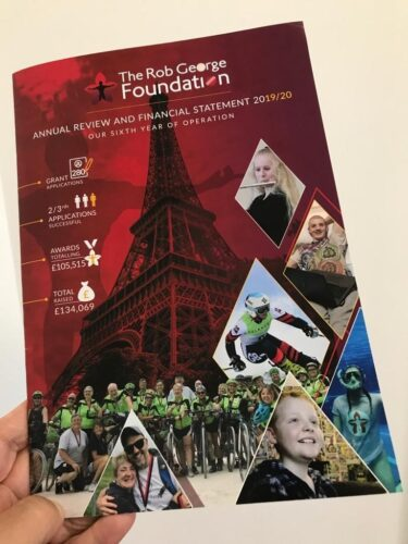RGF annual review cover
